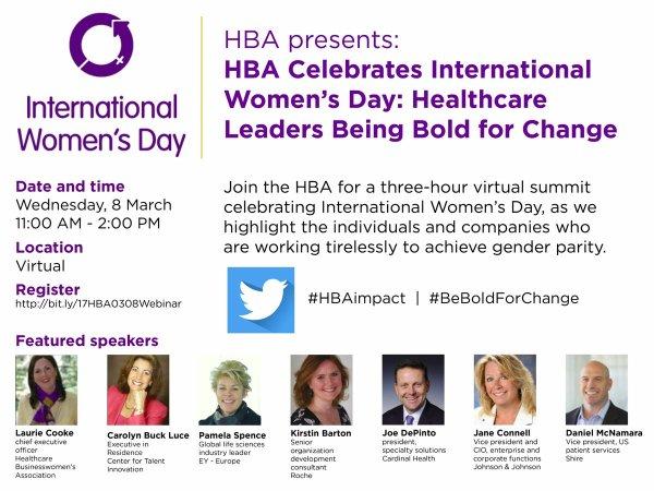 International Women's Day Webinar